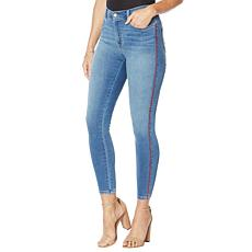 """""""As Is"""" G by Giuliana Skinny Ankle Twill Jean with Piping"""