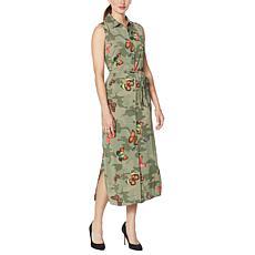 """As Is"" G by Giuliana Sleeveless Duster Dress"