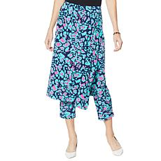"""""""As Is"""" IMAN City Chic Skirt/Pant Combo"""