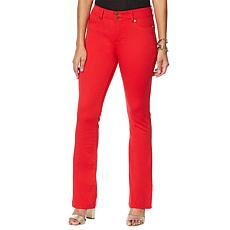 """As Is"" IMAN Global Chic Luxury Resort 360 Slim Bootcut Jean - Fashion"