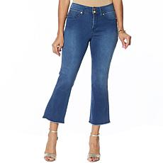 """As Is"" IMAN Global Chic Luxury Resort 360 Slim Crop Jean"