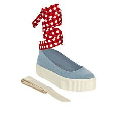 """""""As Is"""" Jessica Simpson Elisah Slip-On Platform Sneaker with Ankle ..."""