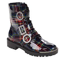 """As Is"" Jessica Simpson Kirlah Fashion Combat Boot"