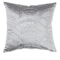 """""""As Is"""" JM by Julien Macdonald Star 18"""" x 18"""" Sequin Beaded Pillow"""