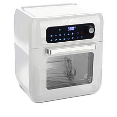"""""""As Is"""" Kitchen HQ 10-Quart Air Fryer Oven with Rotisserie"""