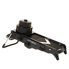 """As Is"" Kitchen HQ All-in-1 V-Blade Adjustable Mandoline"