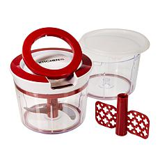 """""""As Is"""" Kitchen HQ Mighty Prep Chopper and Whipper with Extra Bowl ..."""