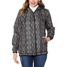 """""""As Is"""" Laurier Reversible Faux Fur Blouson Coat"""