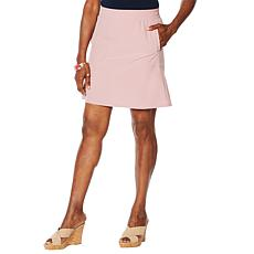 """""""As Is"""" Lemon Way On-the-Move Stretch Tech Skort"""