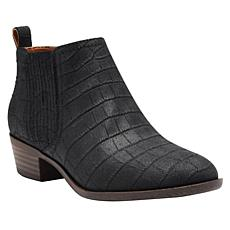 """As Is"" Lucky Brand Bimare Leather or Suede Ankle Bootie"