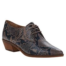 """""""As Is"""" Lucky Brand Erreka Lace-Up Leather Oxford"""