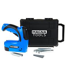 """As Is"" Magna Tools 3.6-Volt Rechargeable Staple and Nail Gun"