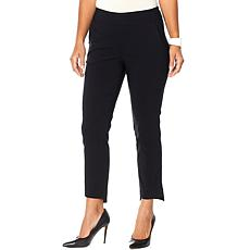 """""""As Is"""" MarlaWynne FLATTERfit Step-Hem Pant with Pockets"""