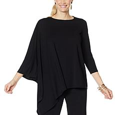 """As Is"" MarlaWynne Luxe Jersey Asymmetric Top"