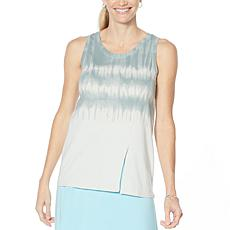 """""""As Is"""" ModernSoul® Tank Top with Asymmetric Slit"""