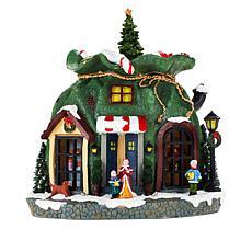 """""""As Is"""" Mr. Christmas Animated Santa Bag"""