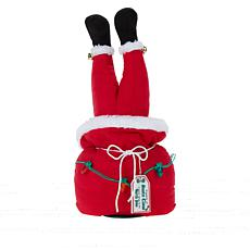 """""""As Is"""" Mr. Christmas Tabletop Plush Animation with Kicking legs"""