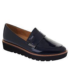 """""""As Is"""" Naturalizer Adeline Leather Platform Loafer"""