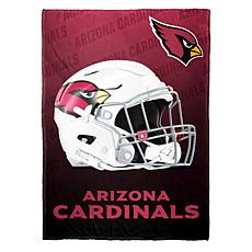 """As Is"" Officially Licensed NFL Fleece Speed Flex Throw - Cardinals"