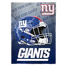 """As Is"" Officially Licensed NFL Fleece Speed Flex Throw - Giants"