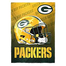 """As Is"" Officially Licensed NFL Fleece Speed Flex Throw - Packers"