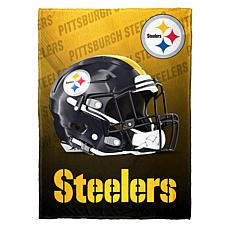 """""""As Is"""" Officially Licensed NFL Fleece Speed Flex Throw - Steelers"""