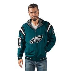 """""""As Is"""" Officially Licensed NFL Hardball Reversible Hooded Jacket b..."""