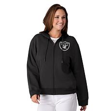"""As Is"" Officially Licensed NFL Women's Full-Zip Hoodie by Glll - R..."