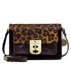 """""""As Is"""" Patricia Nash Bailey Leather Three-Compartment Crossbody"""