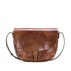 """As Is"" Patricia Nash Rosolini Leather Saddle Bag"