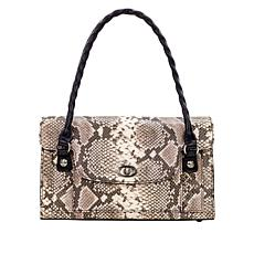 """""""As Is"""" Patricia Nash Sanabria Leather Satchel"""