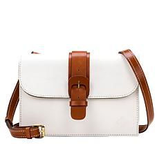 """As Is"" Patricia Nash Tauriana Leather Crossbody Organizer"