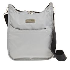 """As Is"" Samantha Brown Nylon Crossbody Bag with RFID Protected Pocket"