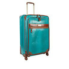 """As Is"" Samantha Brown Ombré Croco-Embossed 30"" Upright Spinner"