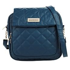 """As Is"" Samantha Brown Quilted Crossbody Bag"