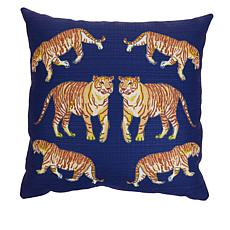 """""""As Is"""" Sewing Down South Animal 20"""" x 20"""" Pillow"""