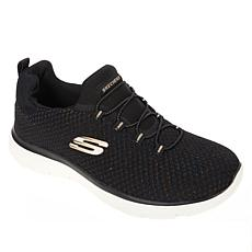 """As Is"" Skechers Summits Bright Bezel Slip-On Athletic Sneaker"