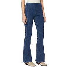 """""""As Is"""" Skinnygirl Beverly Hills Flare Pull-On Pant"""