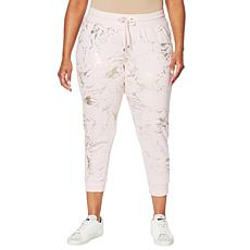 """As Is"" Skinnygirl Laugh French Terry Jogger Pant"
