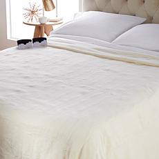 """""""As Is"""" Soft & Cozy Heated Plush Blanket - Twin"""