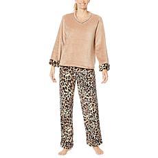 """As Is"" Soft & Cozy Loungewear Super-Soft Pajama Set"