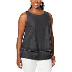 """""""As Is"""" SoftCell by Diane Gilman Easy Tank - Solids"""