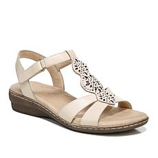 """""""As Is"""" Soul Naturalizer Beauty Sandal with Metallic Accents"""