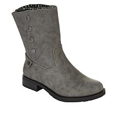 """As Is"" Sporto® Calynn Water-Resistant Sock Bootie"