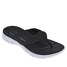 """As Is"" Tony Little Cheeks® Cushys Thong Sandal"