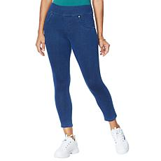 """As Is"" Utopia by HUE Flawsome Dreamy Denim Capri Pant - Missy"