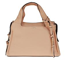 """As Is"" Vince Camuto Coey Leather Satchel"