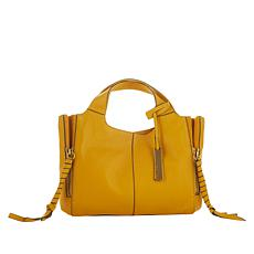 """As Is"" Vince Camuto Cory Leather Satchel"