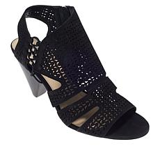 """As Is"" Vince Camuto Esten Perforated Leather Sandal"