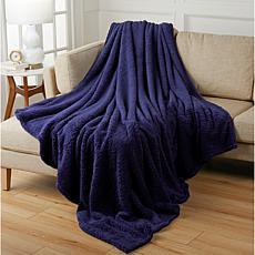 """""""As Is"""" Warm & Cozy Fluffy Sherpa Blanket"""